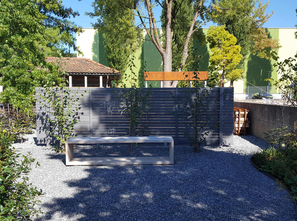 Schaugarten jurt garten - Garten holzwand ...